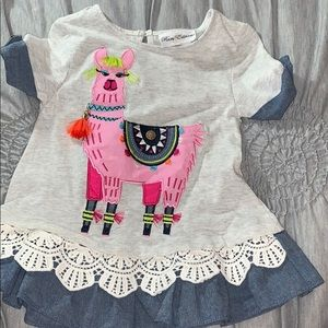 4t Toddler Girl shirt made by Rare Editions